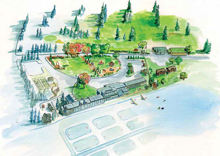 Lake Morey Resort artist rendering