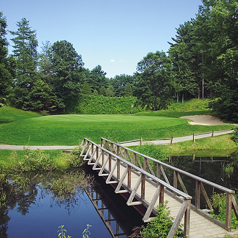 Bridge on Golf Course