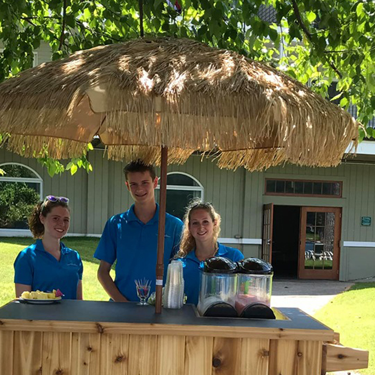 Tiki Bar Staff