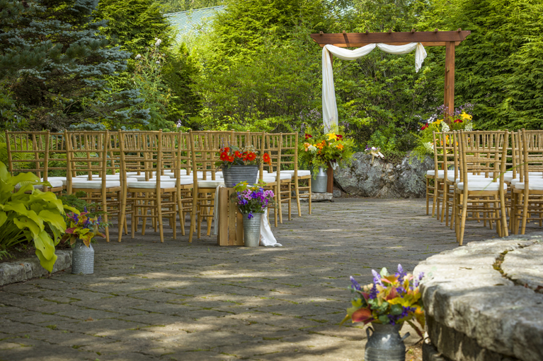 Mapleview Garden Ceremony - Left Side